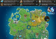 Fortnite Chapter 2 Season 1 Week 6 Hide and Seek Cheat Sheet Map Locations