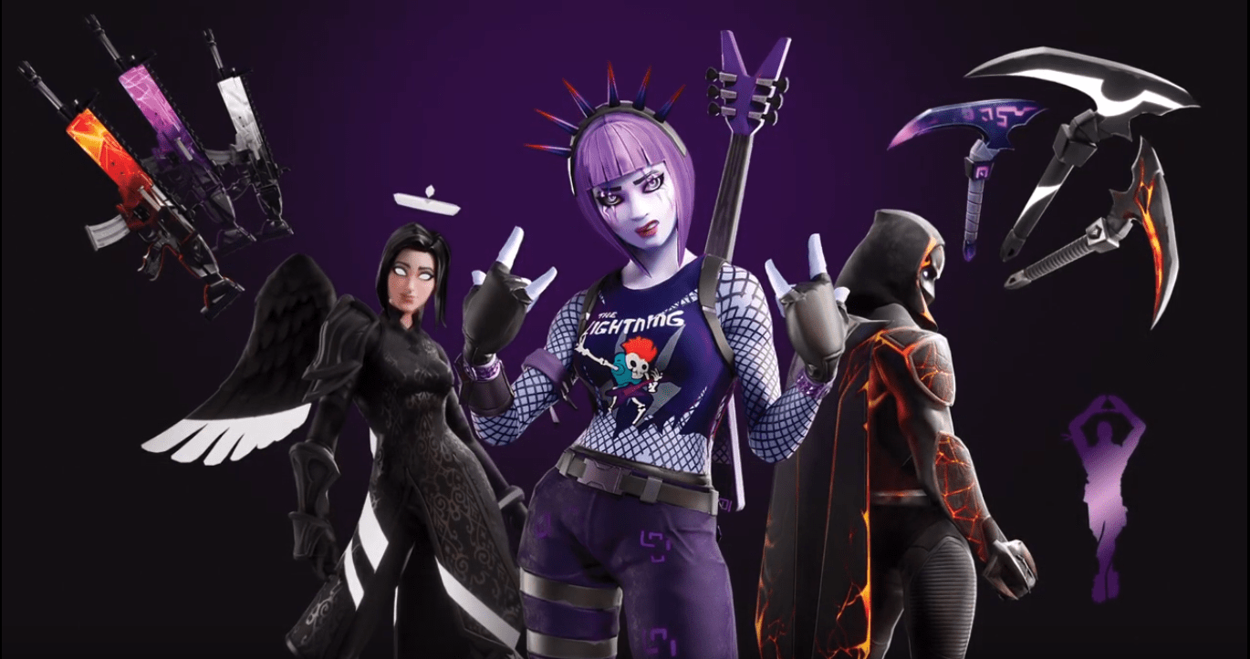Fortnite Darkfire Bundle Cosmetics Available Now