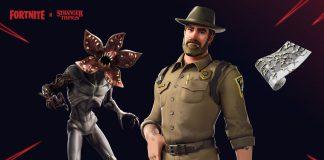 Fortnite Demogorgon chief hopper stranger things skins