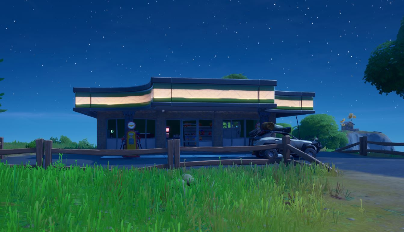 Fortnite Gas Stations Location: Where and How to Deal any damage to opponents by shooting exploding gas pump