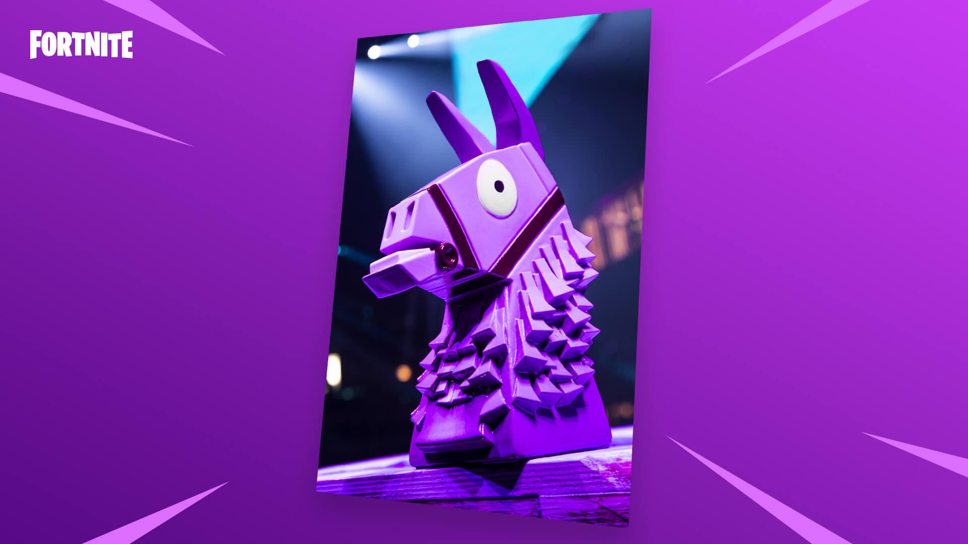 Fortnite Llama Trophy