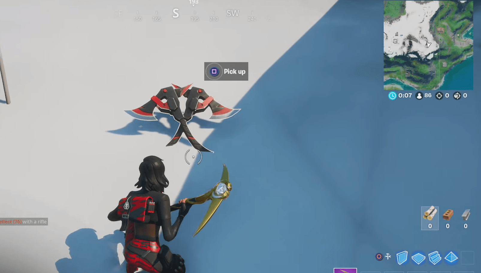 Fortnite Sorana Pickaxes Location How And Where To Find