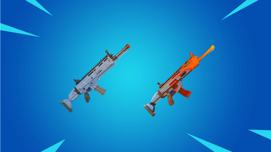 Fortnite Weapon Flame Wave Animated Wrap Concept