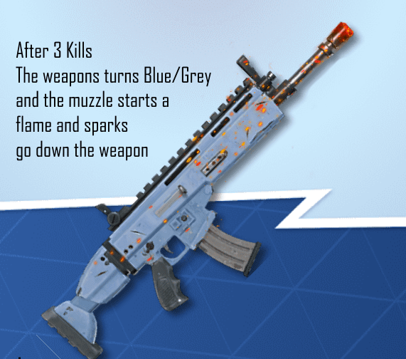 Fortnite Wrap Concept - The Flame Wave Wrap