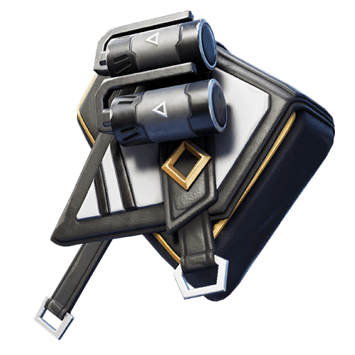 Fortnite v11.20 Leaked Back Bling - Black Stripe