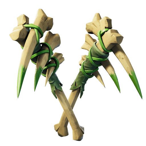 Fortnite v11.20 Leaked Pickaxe - Bone Fangs