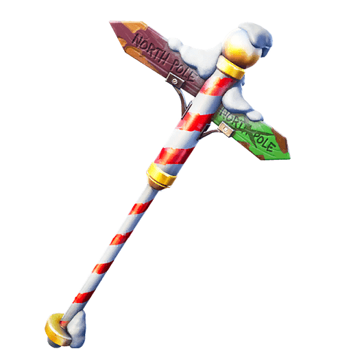 Fortnite v11.20 Leaked Pickaxe - Polar Poleaxe