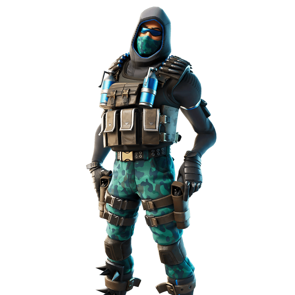 Fortnite v11.20 Leaked Skin - Depth Dealer