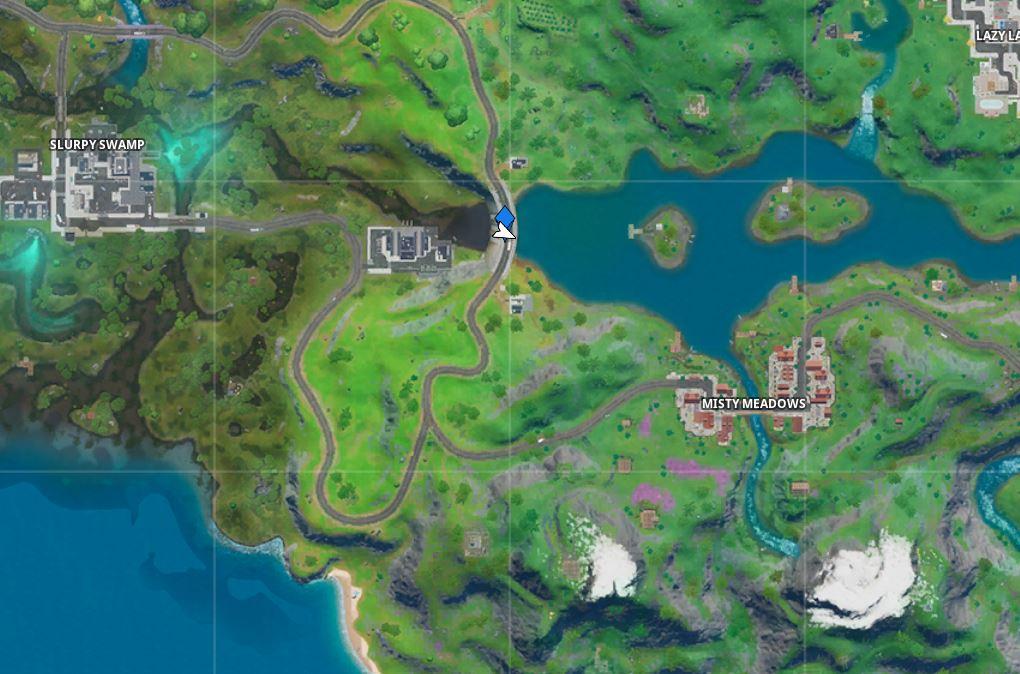 Hydro 16 Fortnite Map Location