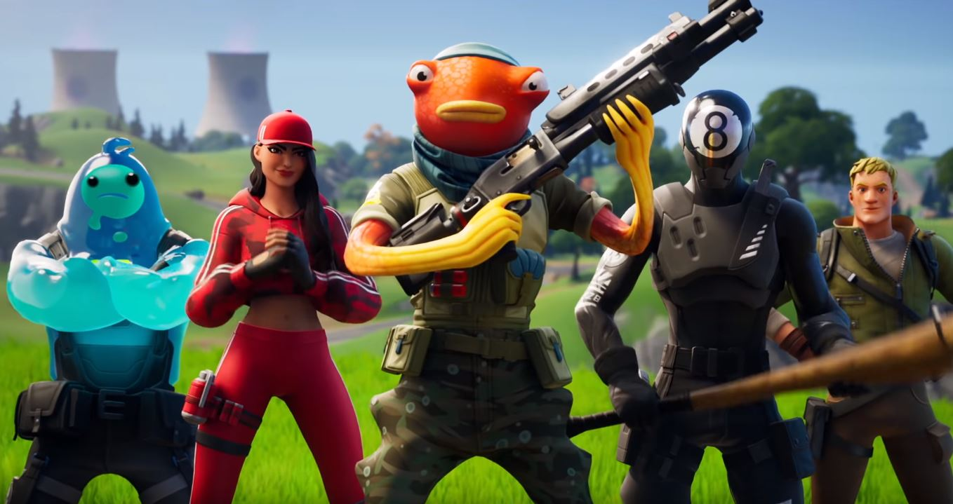 New Fishstick Fortnite skin look-alike