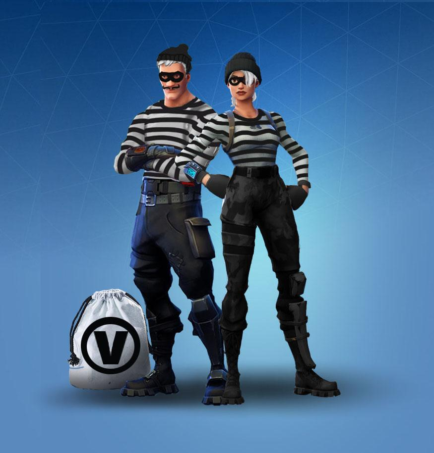Partners In Crime Fortnite Skins Concept