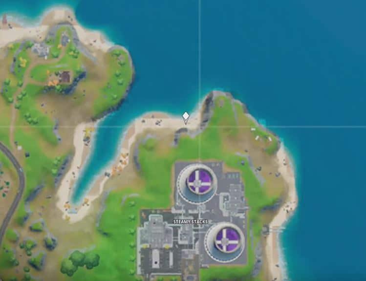 Sorana Back Bling Fortnite Map Location