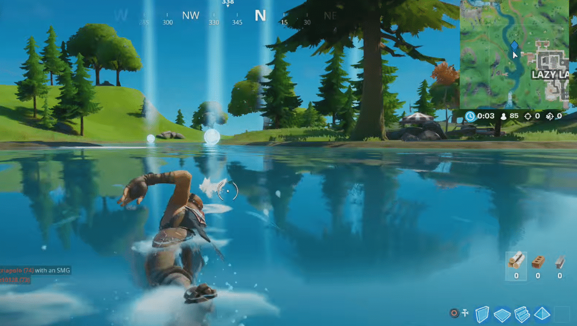 Fortnite Time Trials Where And How To Complete Swimming