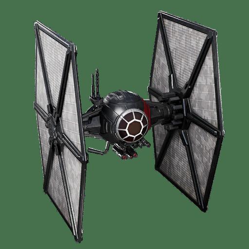 First Order TIE Fighter Fortnite Glider