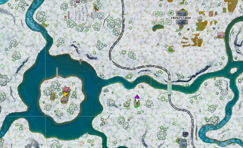 Fortnite Crackshots Cabin Map Location