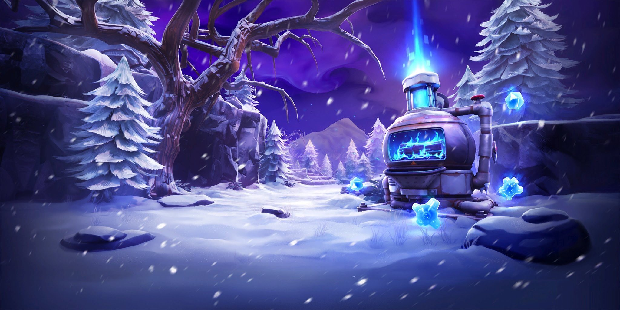 Fortnite Endless Winter Loading Screen Leaked