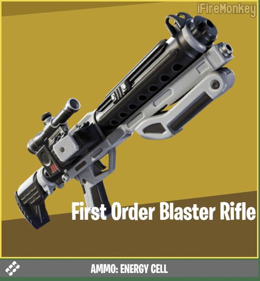 Fortnite First Order Blaster Rifle