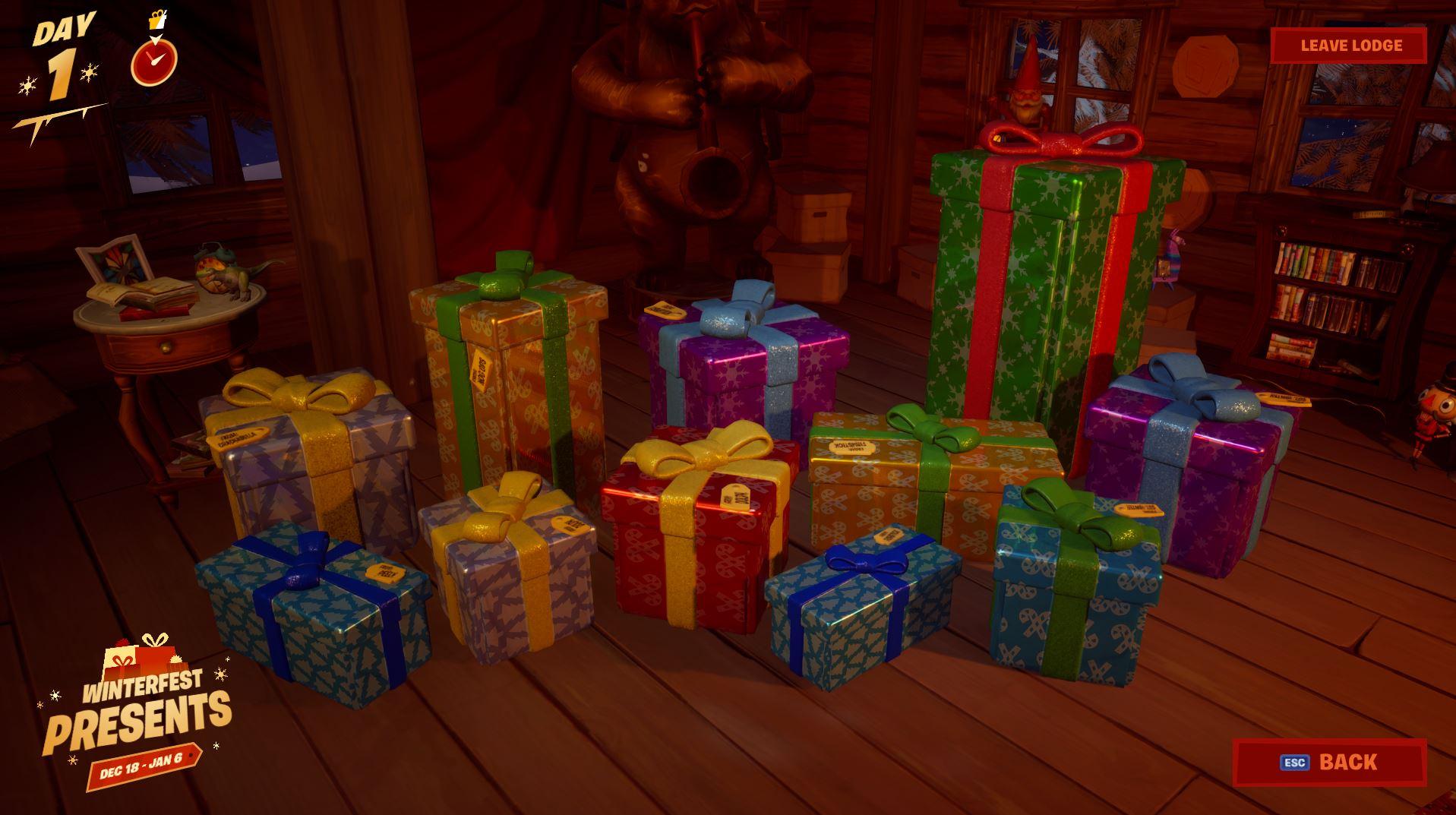 Fortnite Presents