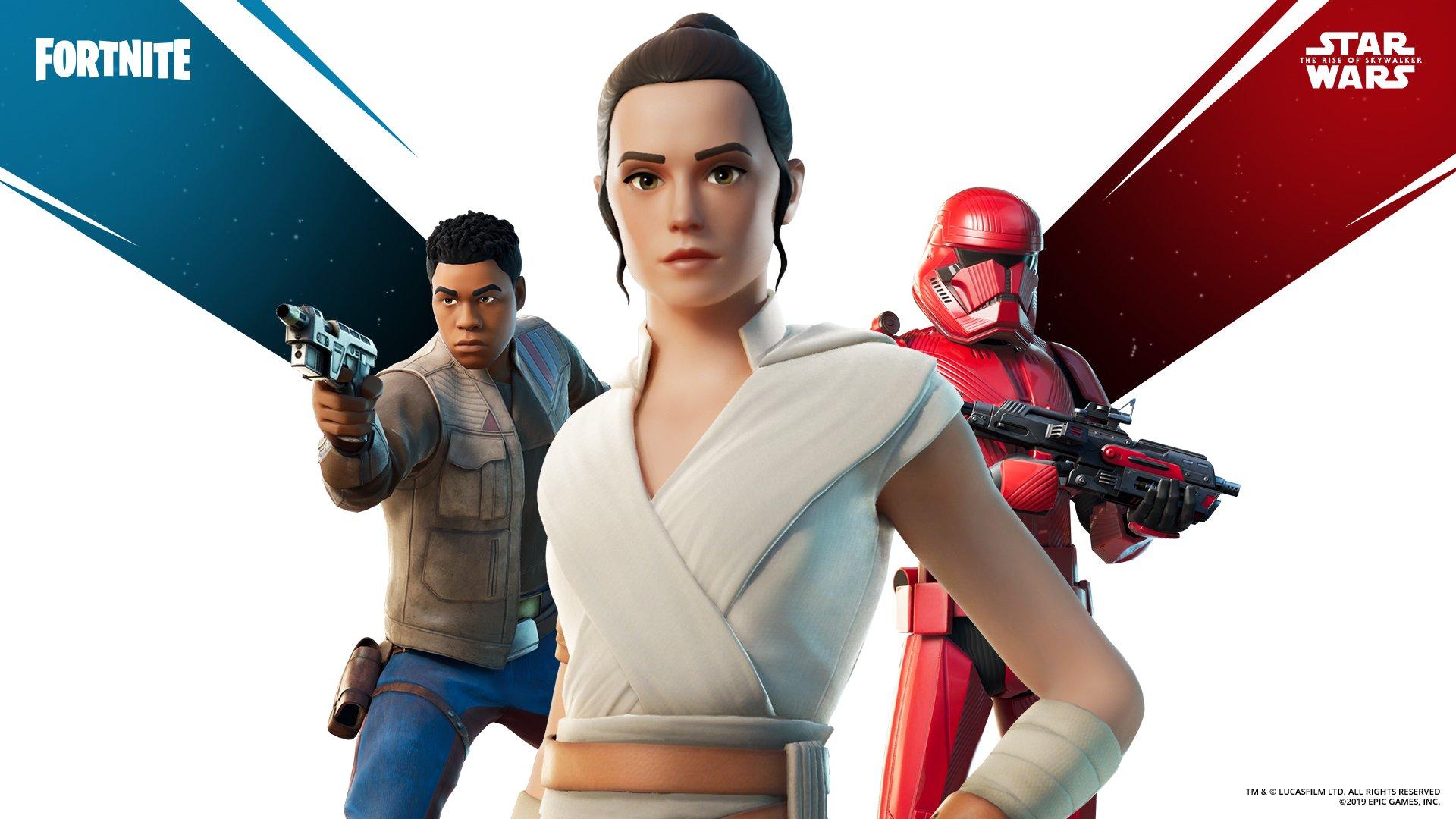 Fortnite Star Wars Rise of Skywalker Skin Pack