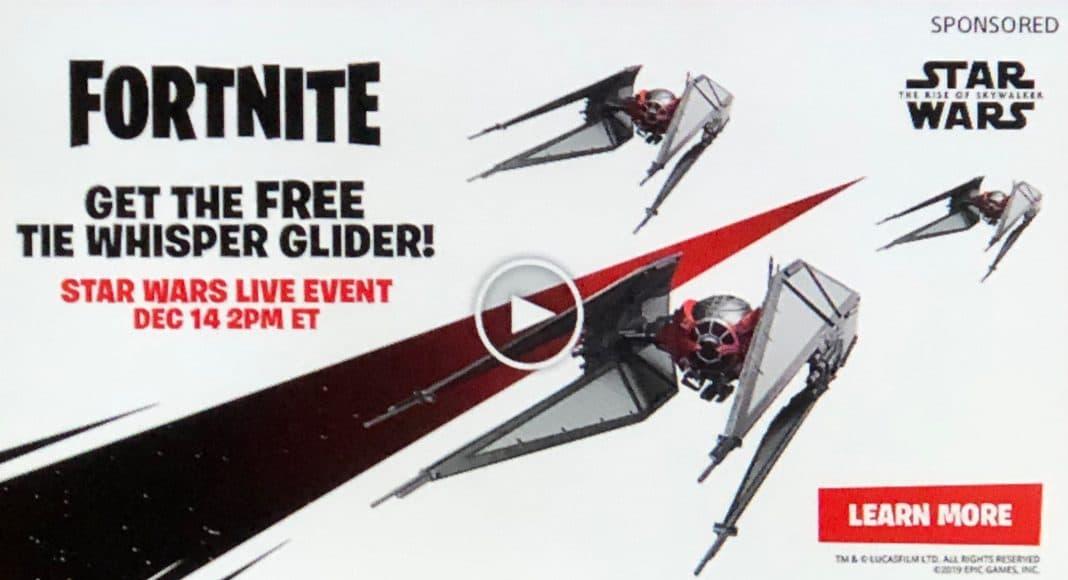 Fortnite The Whisper Star Wars Glider Free