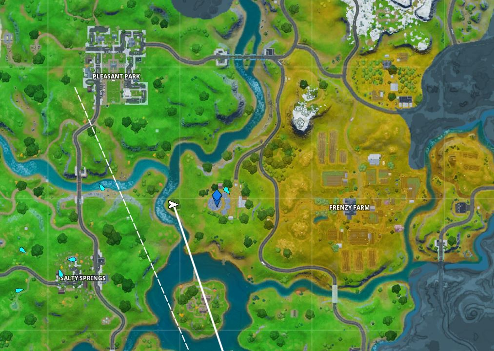 Fortnite Where is Risky Reels in Chapter 2 Location
