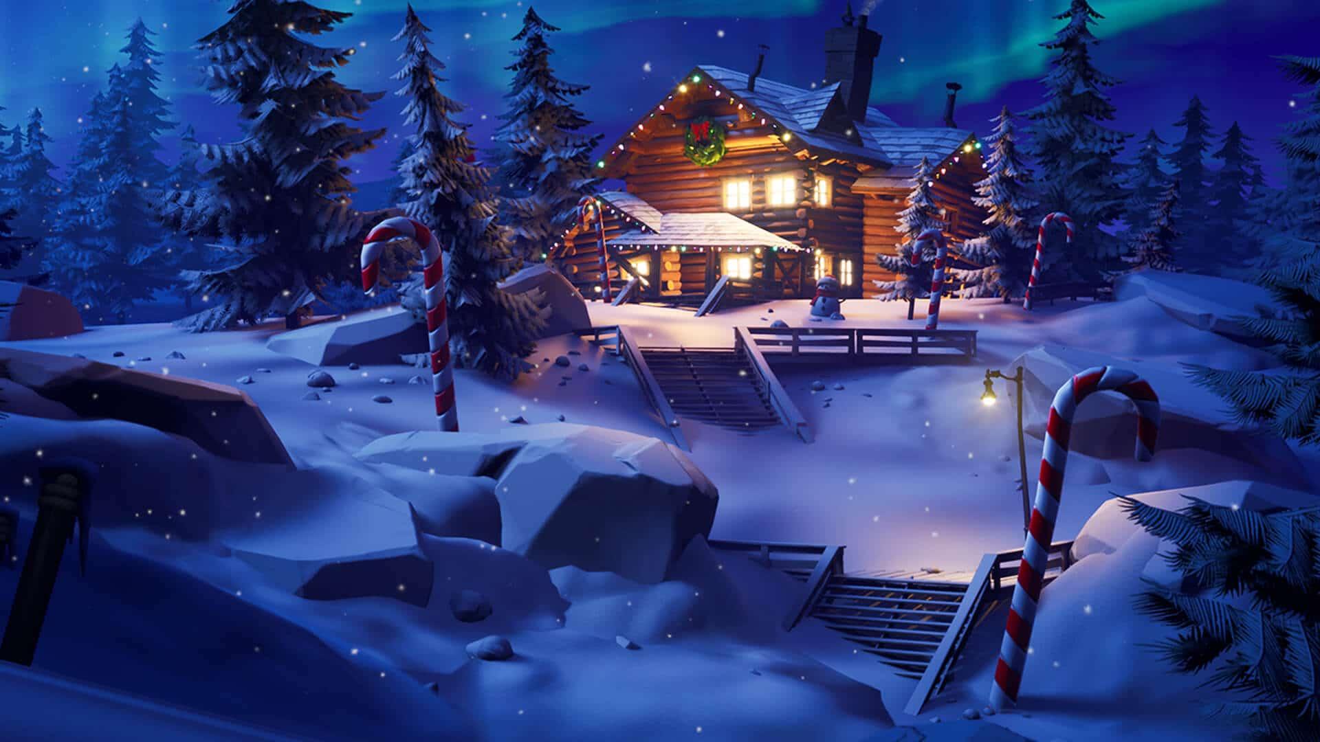 Evento navideño de Fortnite Winterfest