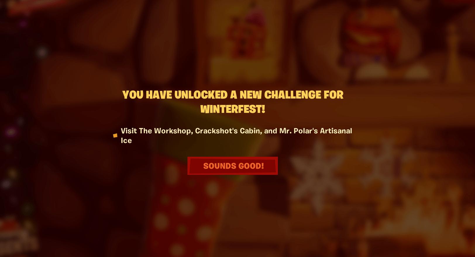 Fortnite Winterfest Day 14 Challenge Unlocked