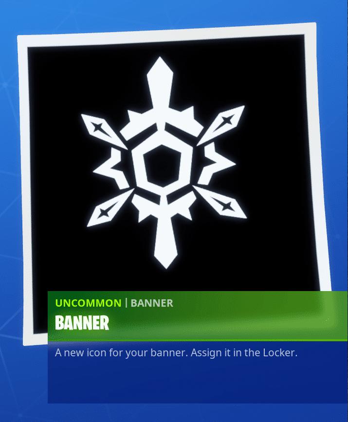 Fortnite Winterfest Day 14 Reward - Banner