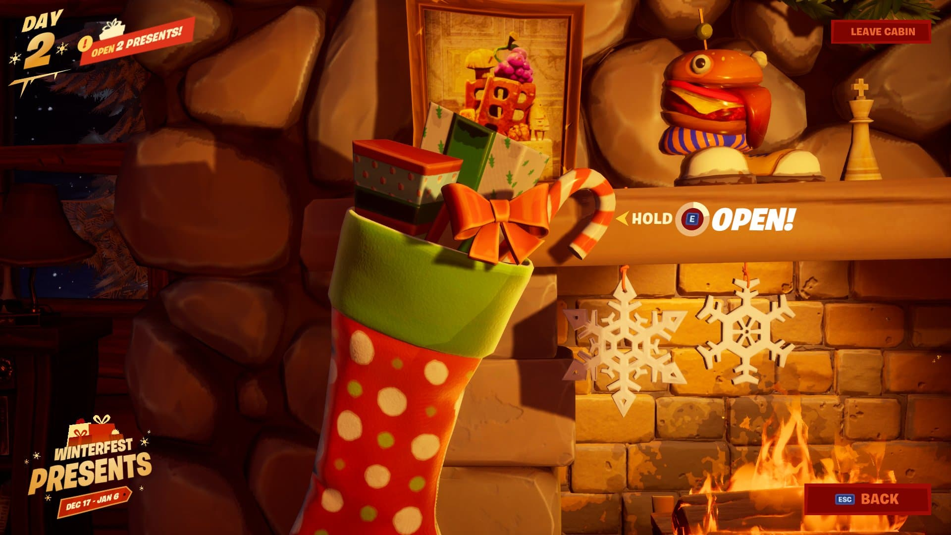Fortnite Winter Update 2019 Fortnite Winterfest 2019 Christmas Challenges Rewards Presents Start Date Likely Delayed