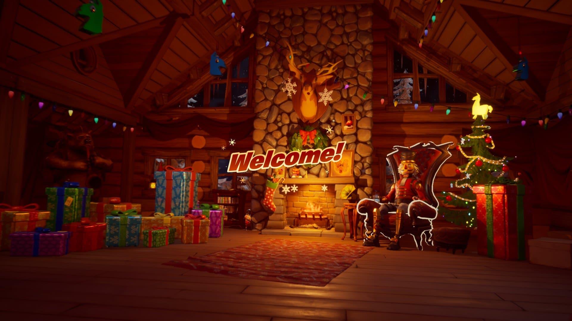Fortnite Winterfest Lobby Screen Daily Rewards Leaked