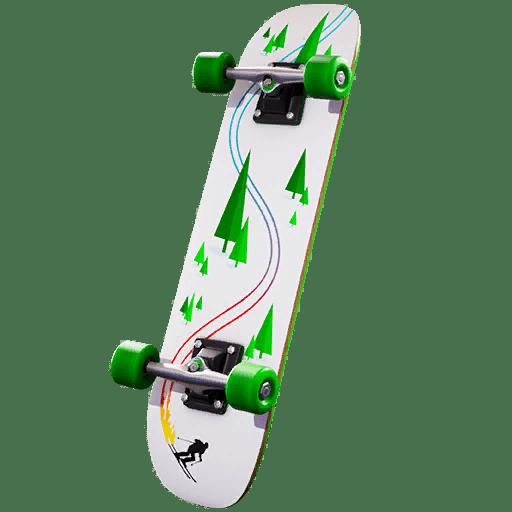 Fortnite Winterfest Day 10 Reward - 2020 Kickflip Back Bling Ski Style