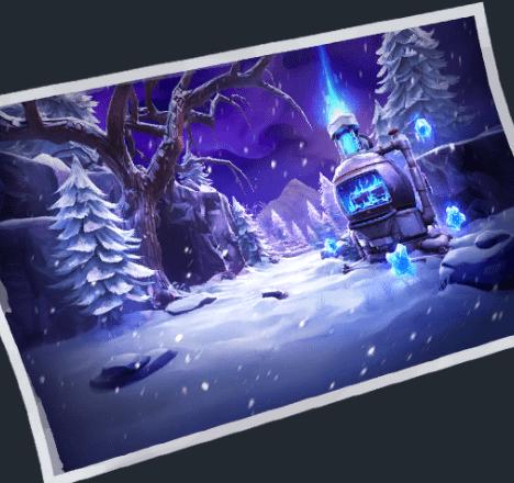 Fortnite v11.30 Leaked Endless Winter Loading Screen
