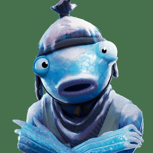 Fortnite v11.30 Leaked Skin - Frozen Fishstick