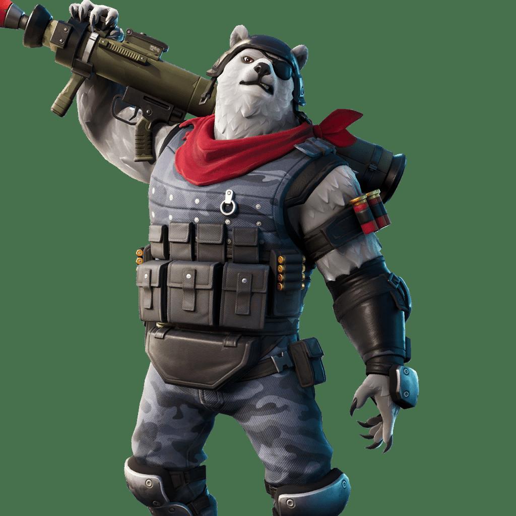 Fortnite v11.30 Leaked Skin - Polar Patroller