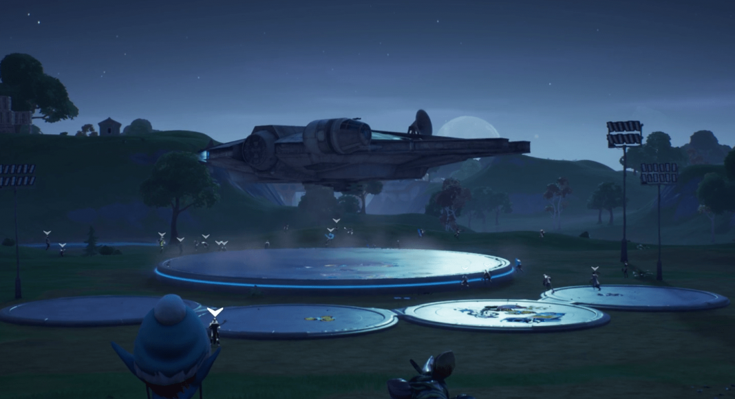 Fortnite x Star Wars Live Event In-game