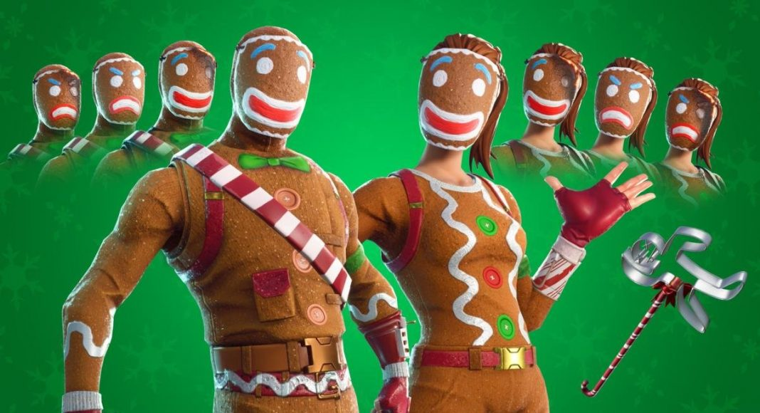Today S Fortnite Item Shop Leaked Merry Marauder And Ginger Gunner Christmas Skins Fortnite Insider Here's a full list of all fortnite skins and other cosmetics including dances/emotes, pickaxes, gliders, wraps and more. today s fortnite item shop leaked