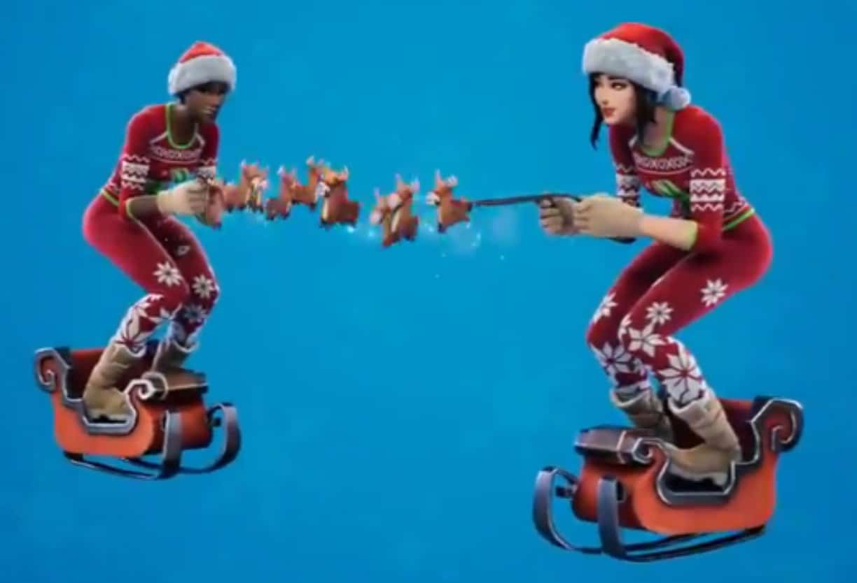 Fortnite Leaked Christmas Skins 2020 New Winterfest Fortnite Christmas Skin leaked by Epic Games, could
