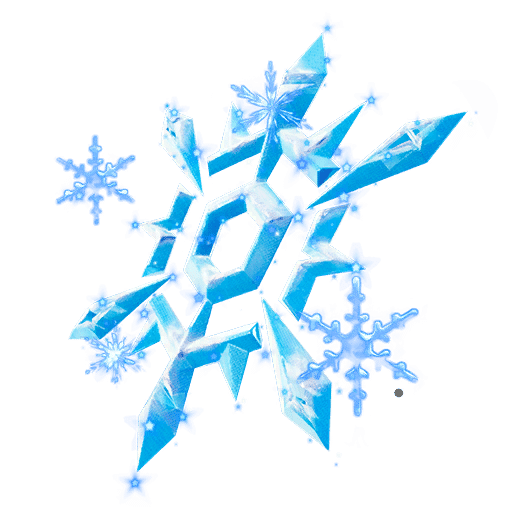 Fortnite Winterfest Day 12 Reward - Snow Crystal Back Bling