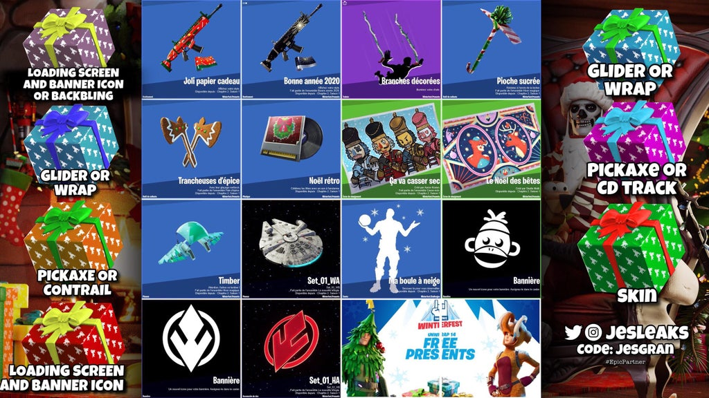 Which Fortnite Presents to Open Guide