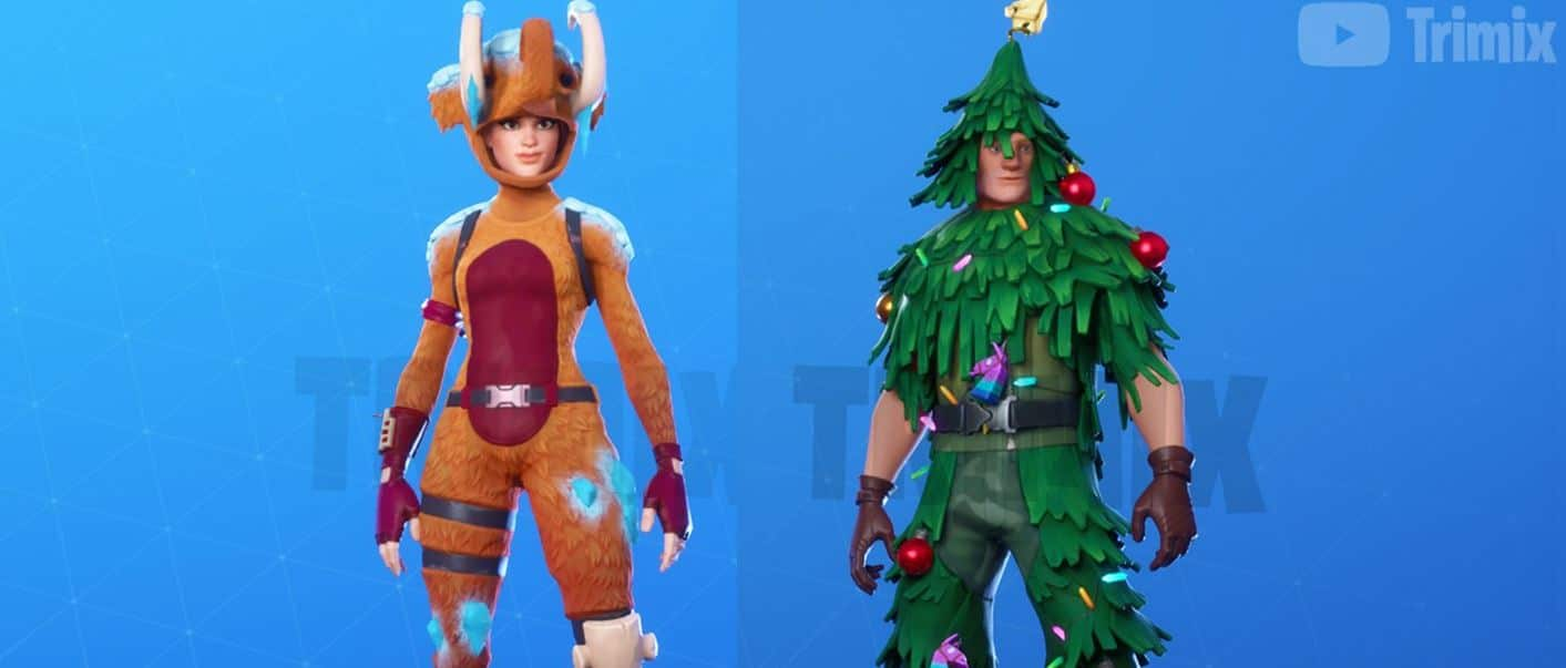 Wooly Mammoth and Ornament Soldier Leaked Fortnite skins