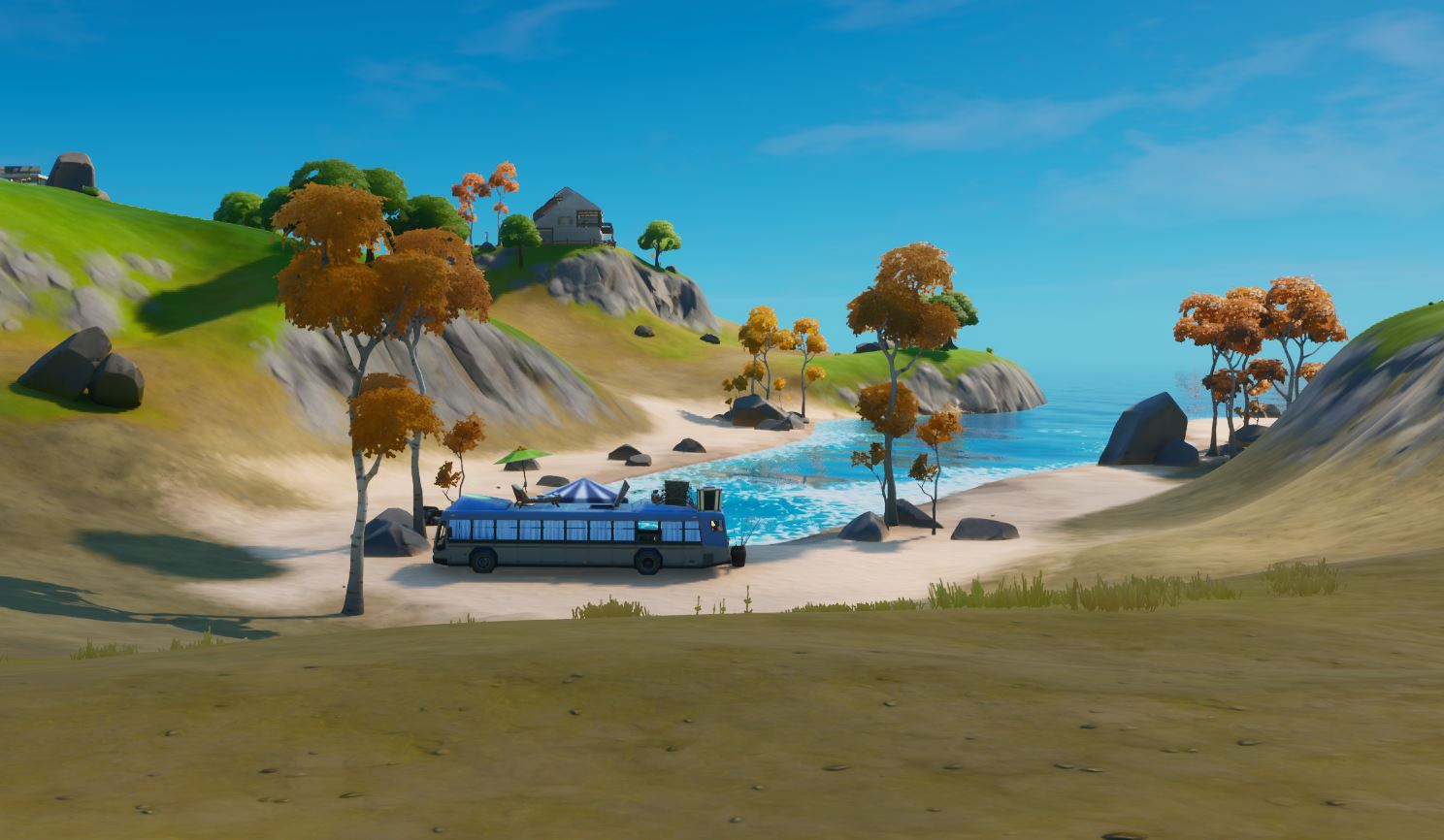 Fortnite Beach Bus
