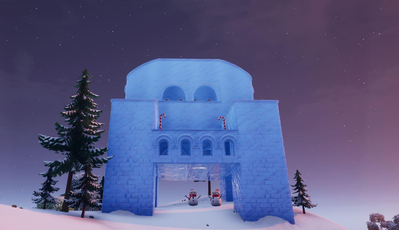 Fortnite Ice Throne Location