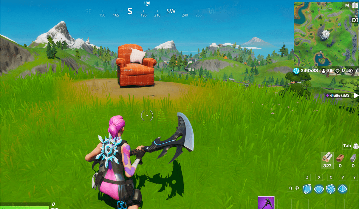 Fortnite Lonely Recliner Location In-Game