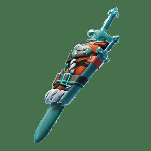 Fortnite v11.40 Leaked Back Bling - Jade Blades