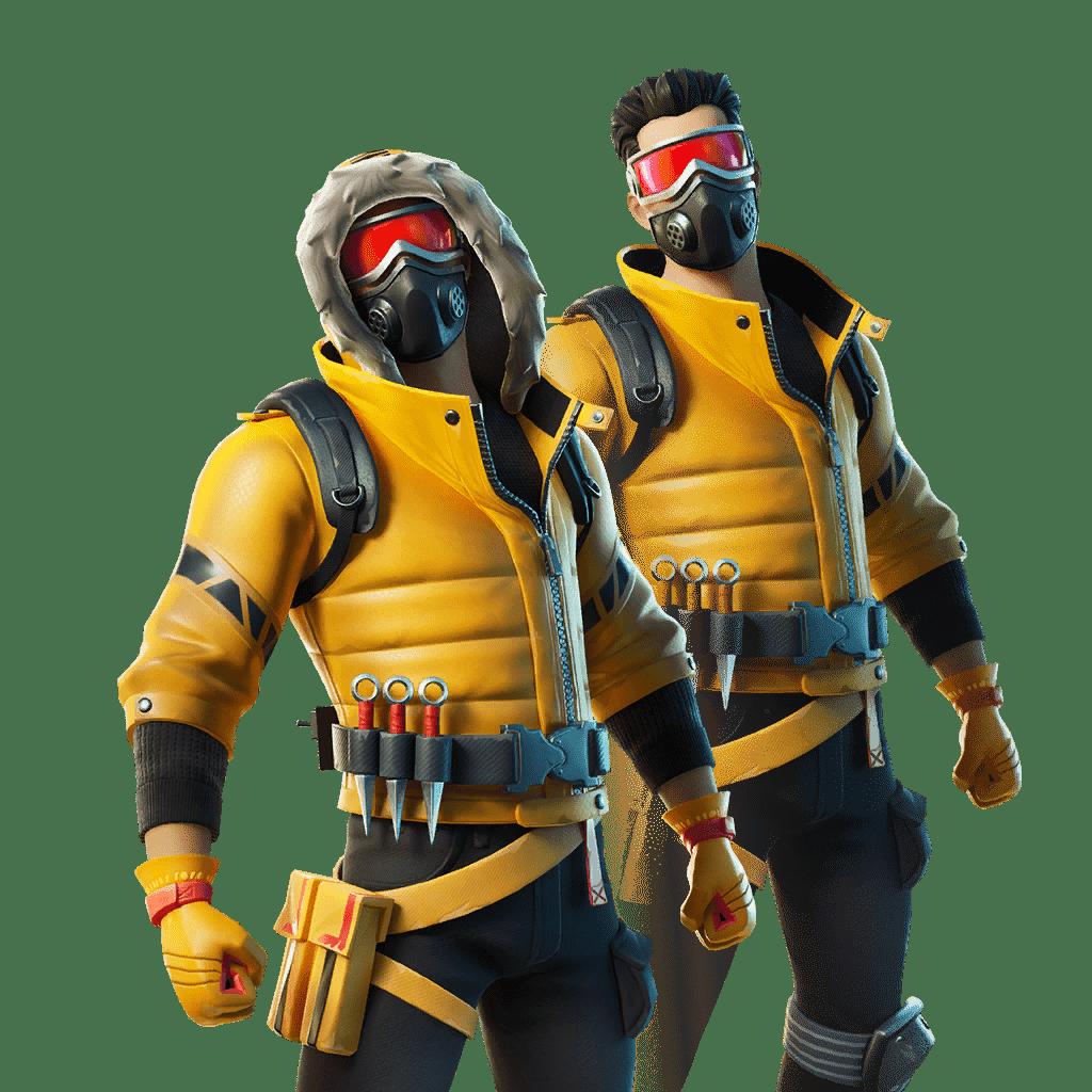 Fortnite v11.40 Leaked Skin - Caution