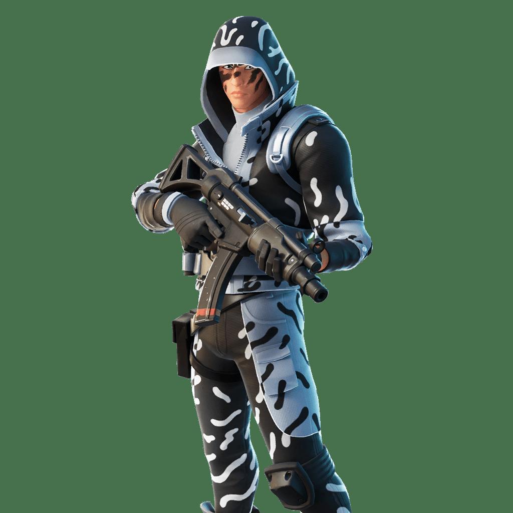 Fortnite v11.40 Leaked Skin - Ice Stalker