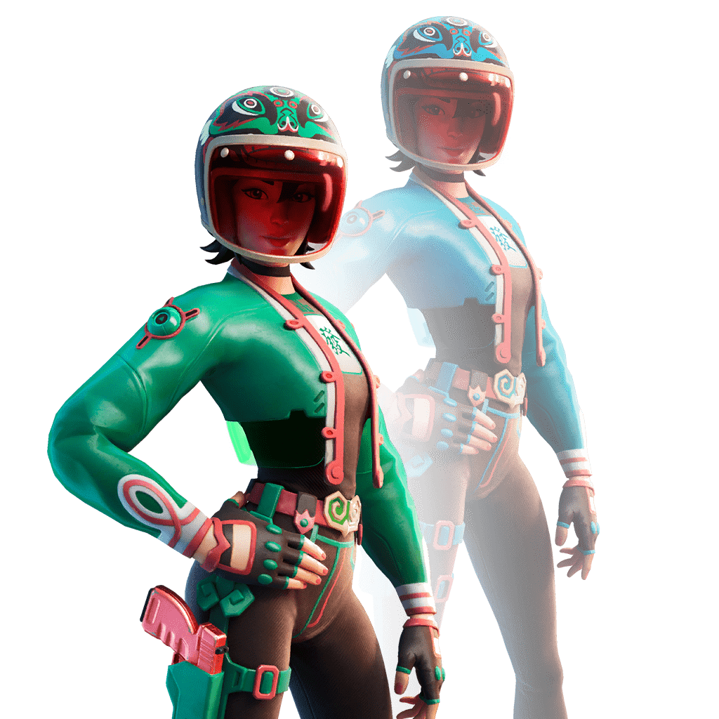 Fortnite v11.40 Leaked Skin - Jade Racer