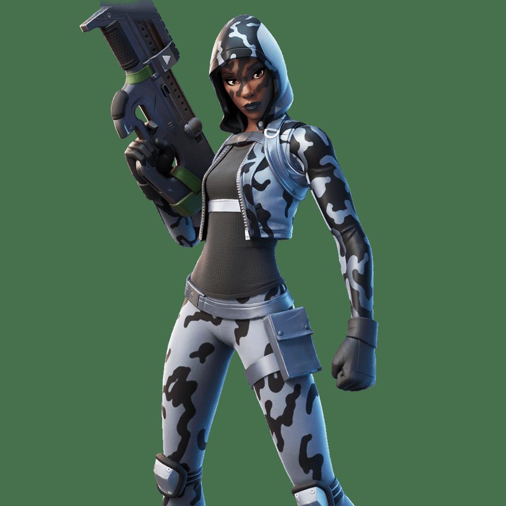 Fortnite v11.40 Leaked Skin - Snow Sniper