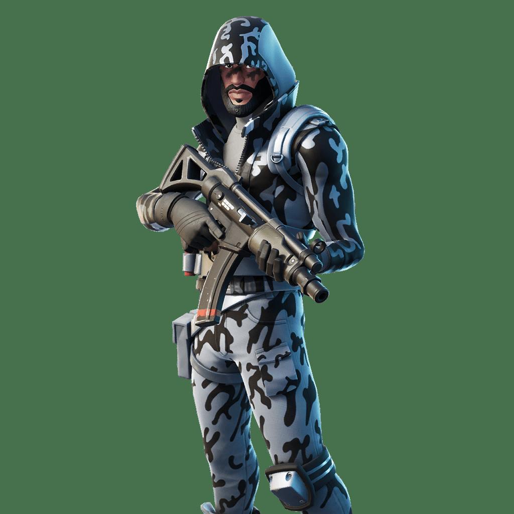 Fortnite v11.40 Leaked Skin - Snow Striker