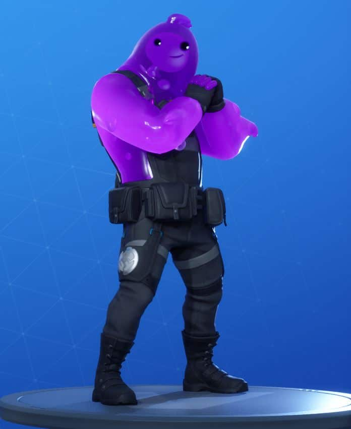 Purple Rippley Fortnite Skin Style